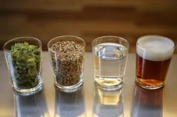 основные ингредиенты для варки пива